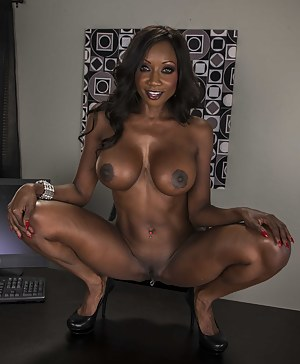 Free Big Black Tits Porn Pictures